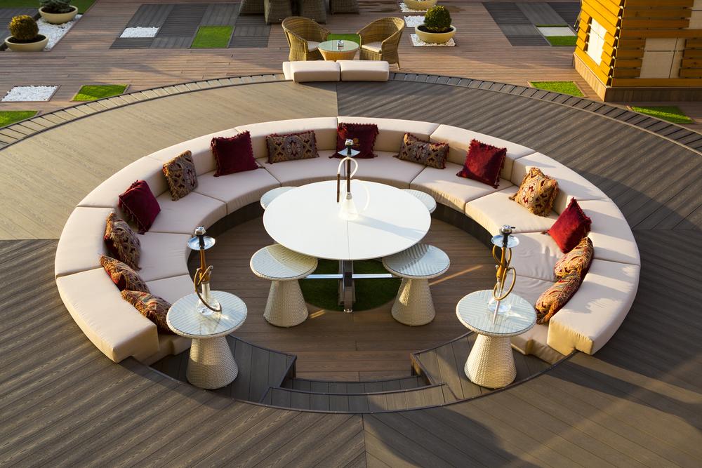 Outdoor Bestuhlung - stilvoll und wetterfest von Ohntrup Gastronomieeinrichtung